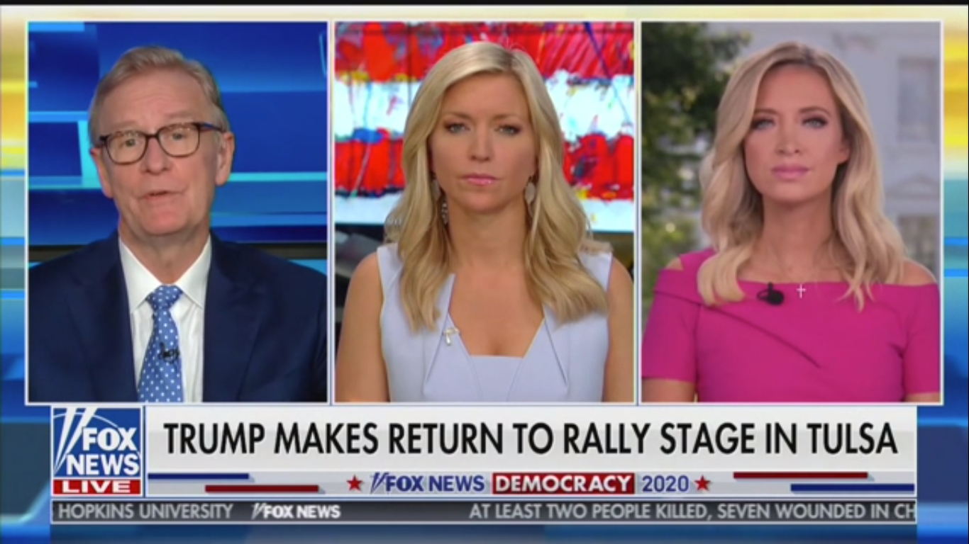'Fox & Friends' Host Refuses to Believe Trump Wasn't 'Furious' over Tulsa Rally