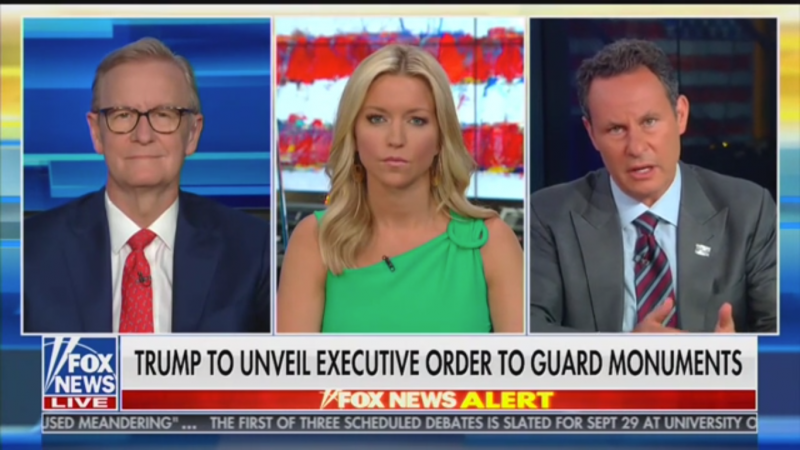 Watch: Fox's Brian Kilmeade Defends Andrew Jackson and the Indian Removal Act