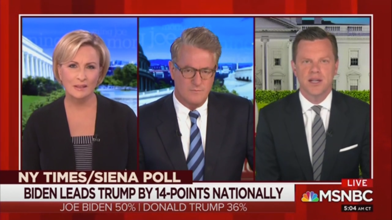 Joe Scarborough: Trump 'Does Not Look Like a Man Who Wants to Win'