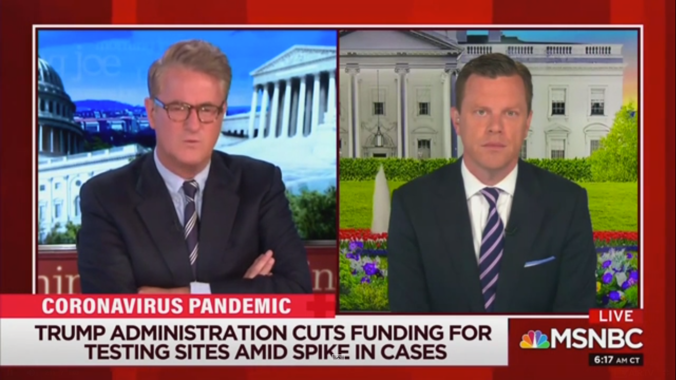 'Morning Joe' Slams 'Colossal Stupidity' of Republicans as Coronavirus is 'Exploding'