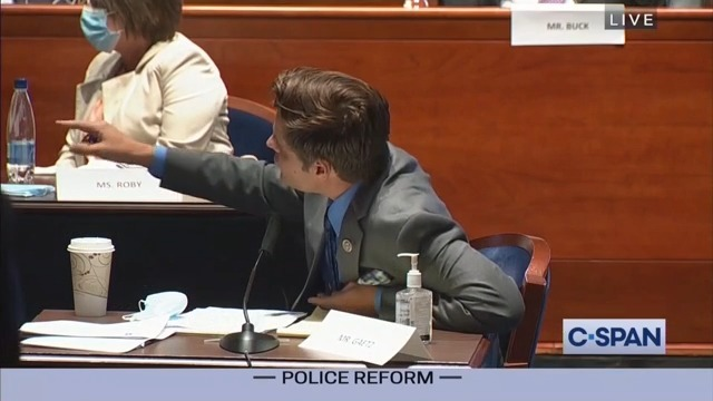 WATCH: Matt Gaetz Screams at Dem. Rep Cedric Richmond Over Race: 'Who the Hell Do You Think You Are?!'