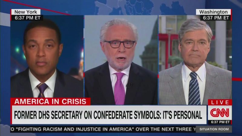 Don Lemon on Confederate Namesakes: Would You Want Your Kids Playing in 'Bin Laden Park?'