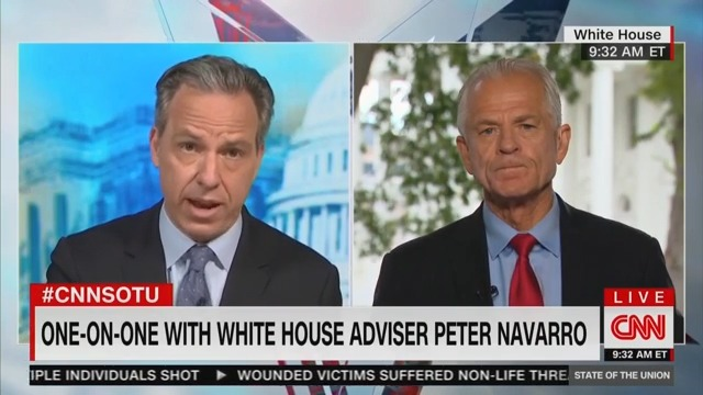 Peter Navarro: Trump Slowing Down COVID Testing to Help His Ratings Was 'Tongue in Cheek'