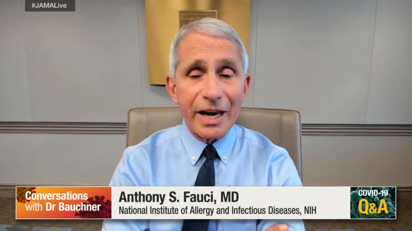 Dr. Fauci: Coronavirus May Have Mutated and Become More Infectious