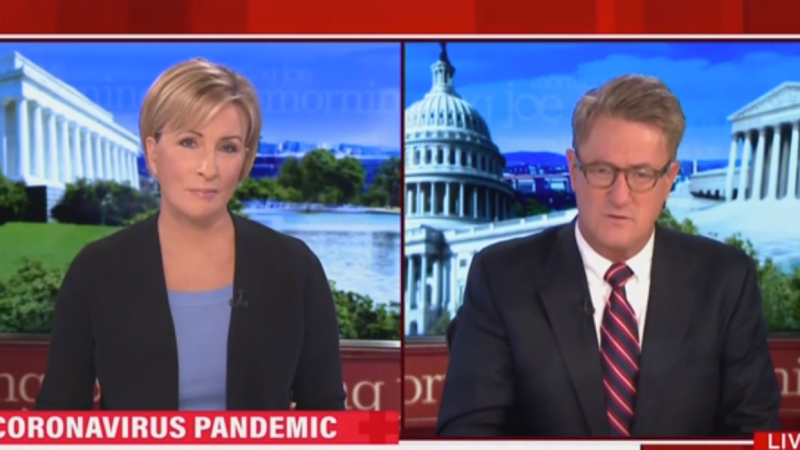 Joe Scarborough: A Lot of Senior Citizens Are Dead Because Trump Said Coronavirus Would Go Away Magically