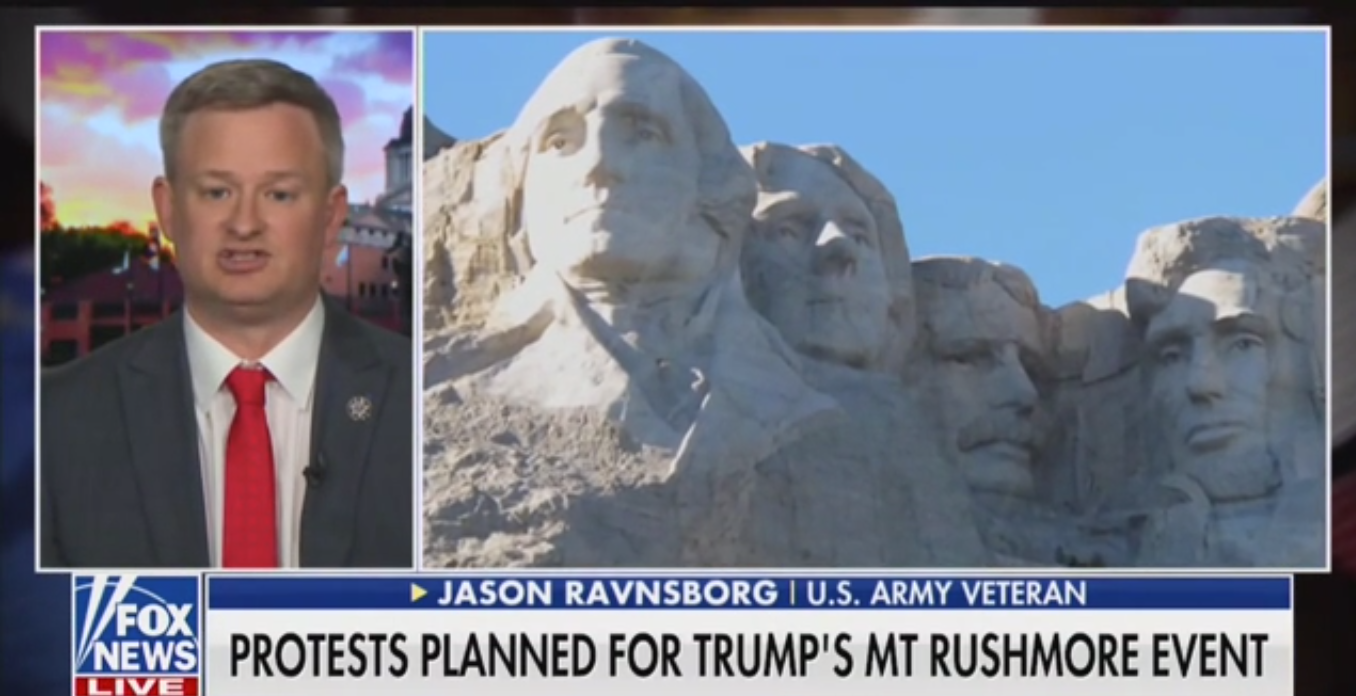 South Dakota AG: Mount Rushmore Was Meant to 'Honor America', Not Desecrate Native Land