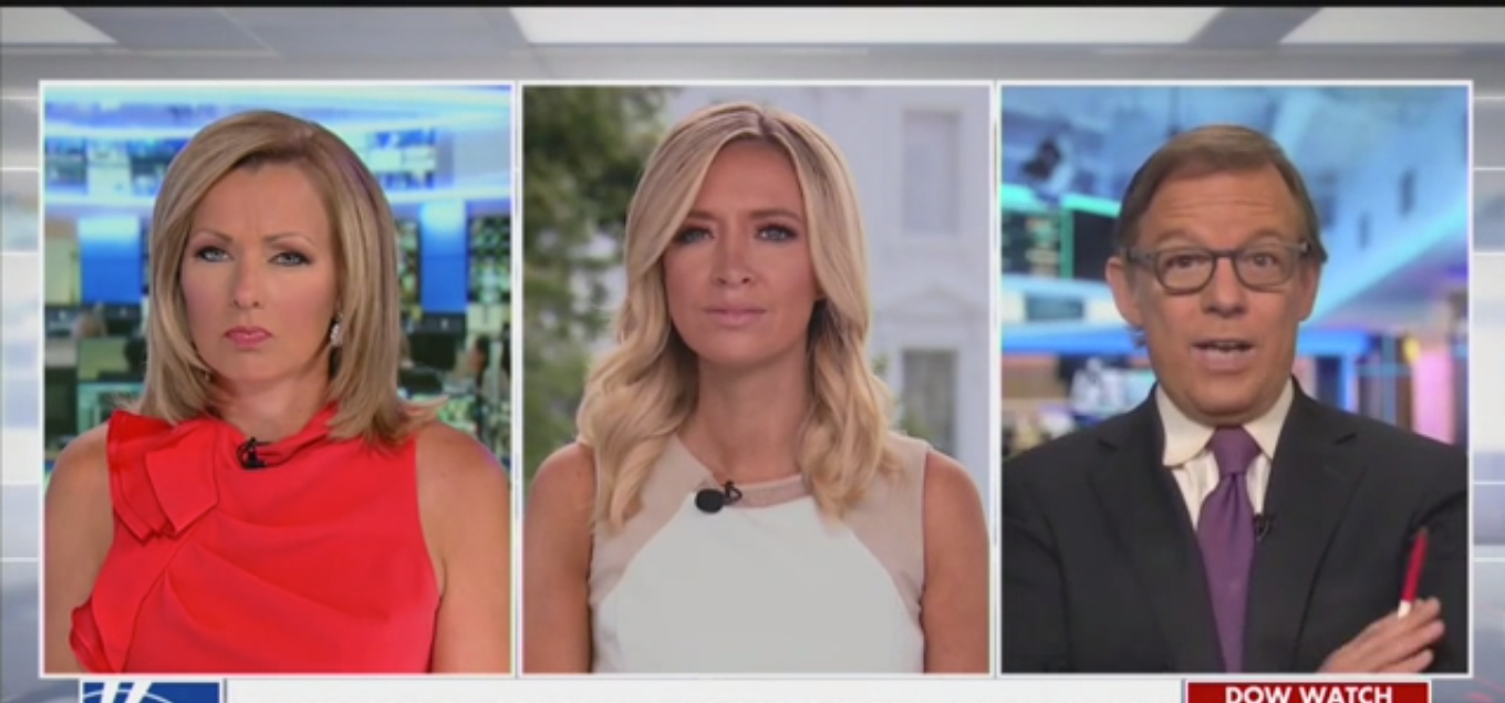 Kayleigh McEnany Compares Bubba Wallace to Jussie Smollett to Defend Trump Tweet