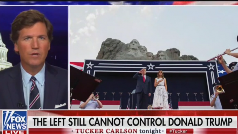 Fox's Tucker Carlson Praises Trump's Speech That Borrowed Heavily from His Show
