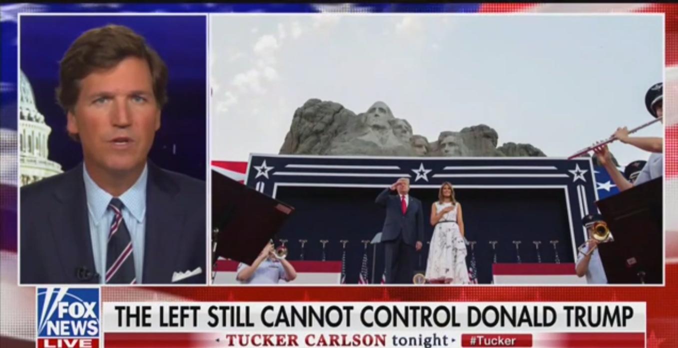 Fox's Tucker Carlson Praises Trump's Speech That Borrowed Heavily from His Show
