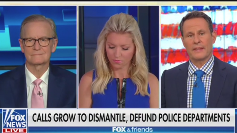 Fox's Brian Kilmeade Suggests Donations to Black Lives Matter Are Going to the Democratic Party