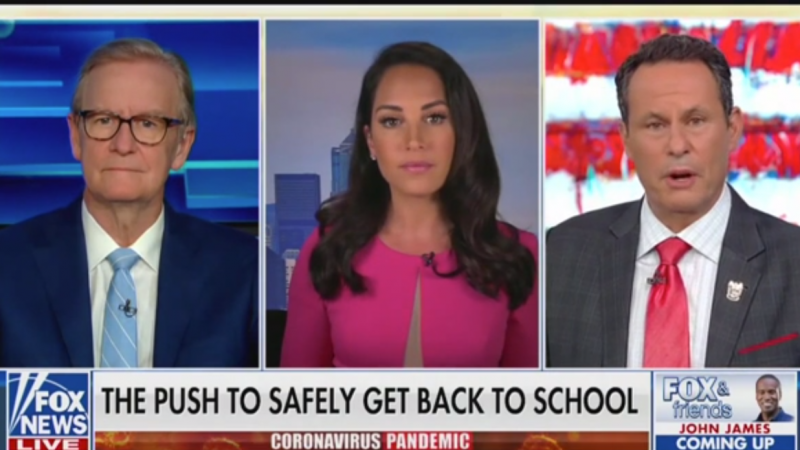 Fox's Brian Kilmeade: Trump Should Make Sure There's No Backlog in Testing and PPE