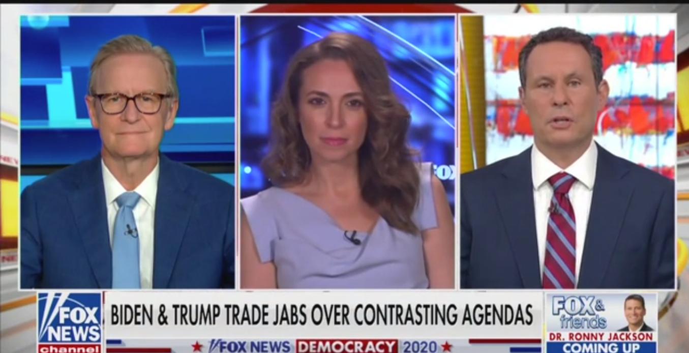 Watch: Fox's Brian Kilmeade Describes Life Under 'A Biden Regime'