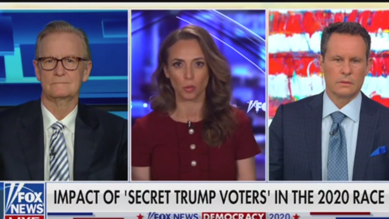 'Fox & Friends': How Many Secret Trump Voters Are There?