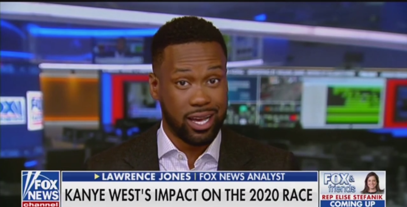 Fox News Analyst: Young People Will Be 'Enlightened' by Kanye West's Presidential Bid