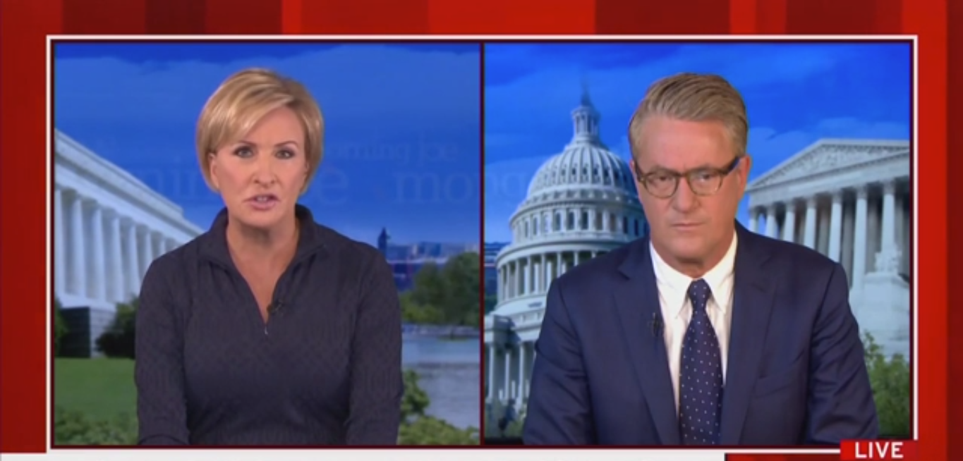 Mika Brzezinski: 'I'm Extremely Uncomfortable' with Trump Wishing Ghislaine Maxwell Well