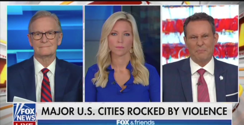 Watch: Fox News' Brian Kilmeade Mocks 'Peaceful Riots'