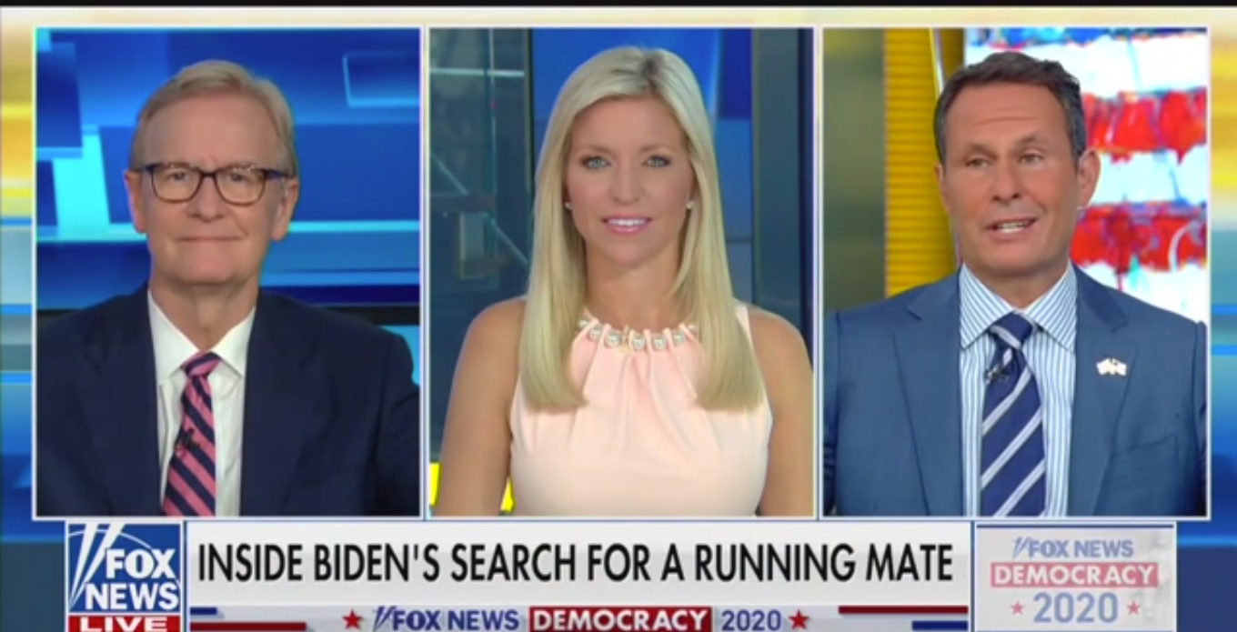 Brian Kilmeade: Biden Is Basically Saying He'll Be a One Term President 'If That'