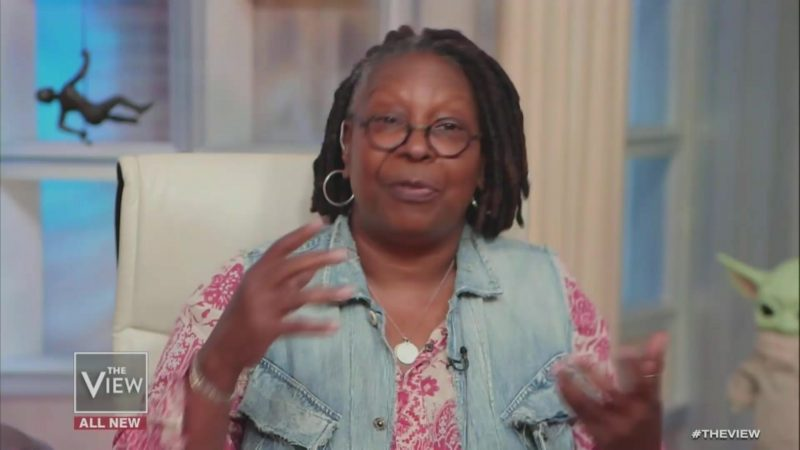 Whoopi Goldberg Rebukes Meghan McCain Over False Claims About 'Women's March' Segment: 'I Was There!'