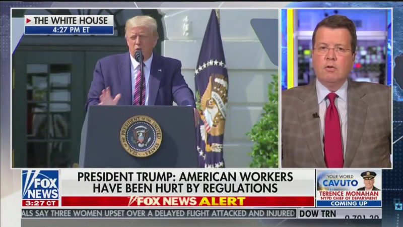 Fox News' Neil Cavuto Cuts Away From Trump Speech That 'Mischaracterized' Obama's Record