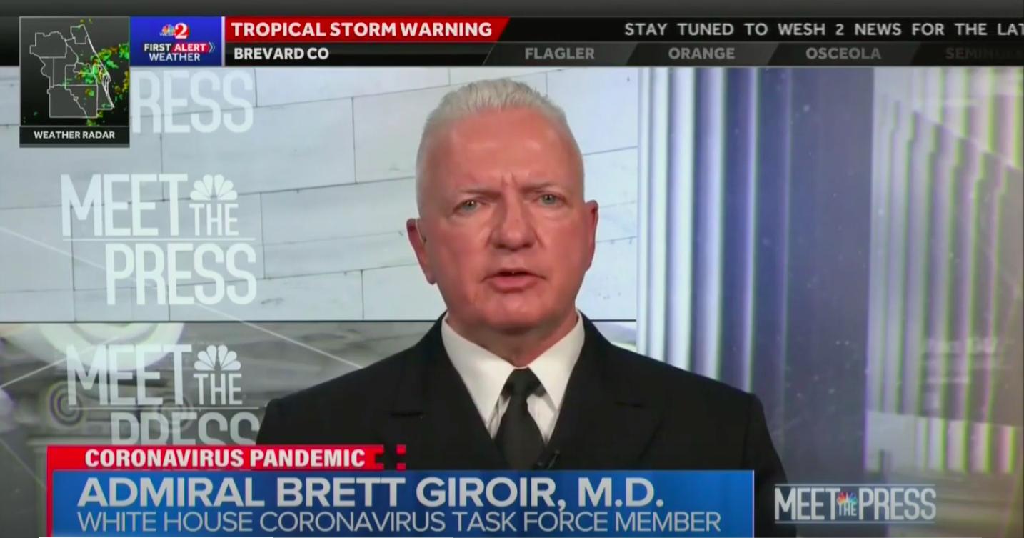 'No Evidence' to Show that Hydroxychloroquine Works, Trump's Coronavirus Testing Czar Says