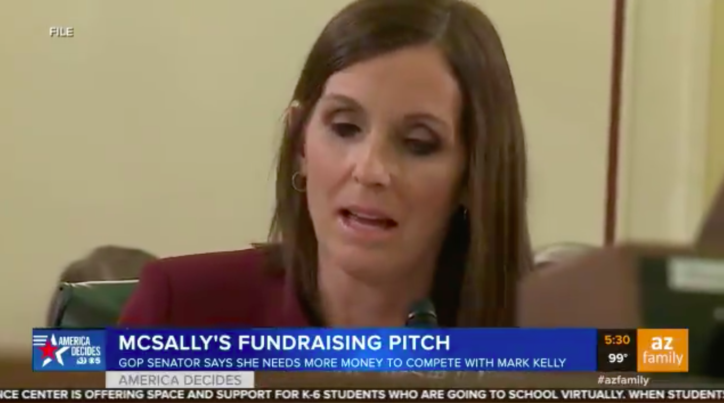 GOP Senator Asks Voters to 'Fast' and Donate Meal Money to Her Campaign