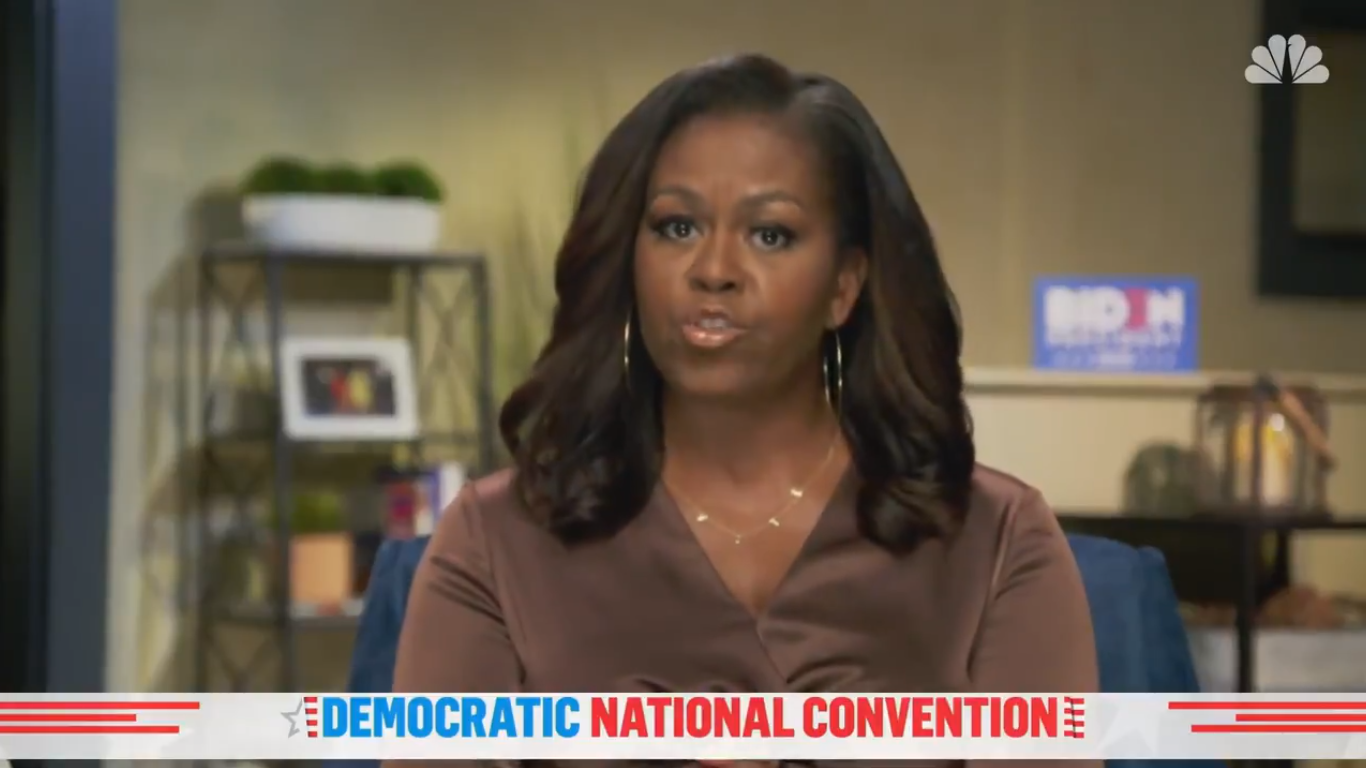 Michelle Obama: 'Donald Trump Is the Wrong President for Our Country'