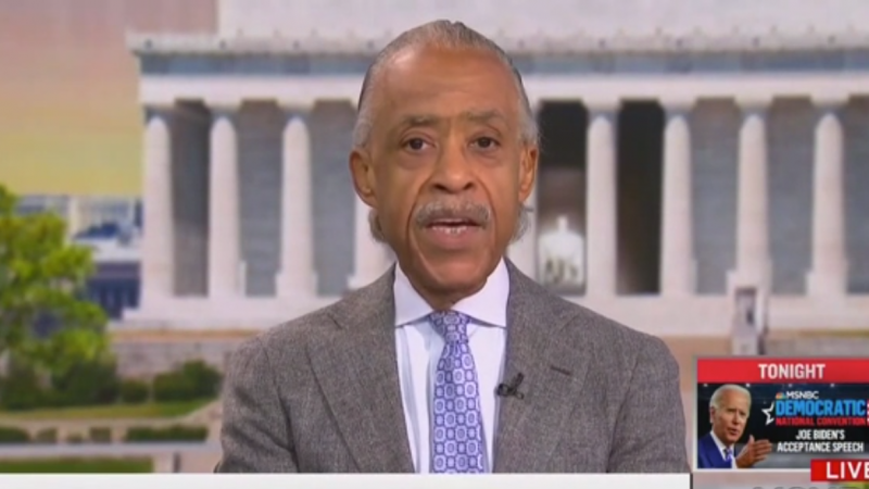 Al Sharpton Urged Biden to Discuss Saving Democracy in Convention Speech