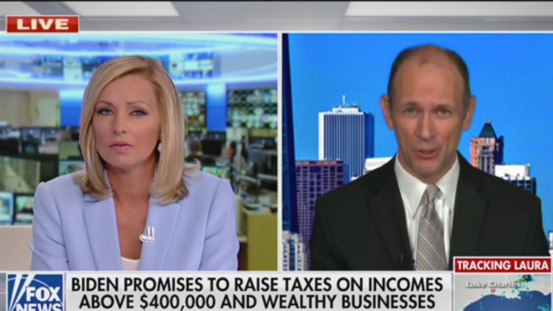Economist Fact Checks Fox News Anchor Live On Air: 'Check the Numbers'