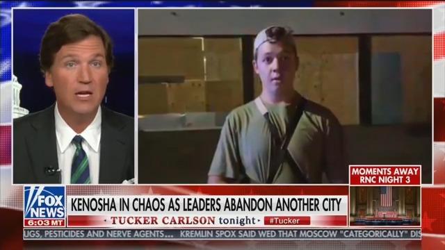 Tucker Carlson Defends Kenosha Vigilante: He Did What 'No One Else Would'
