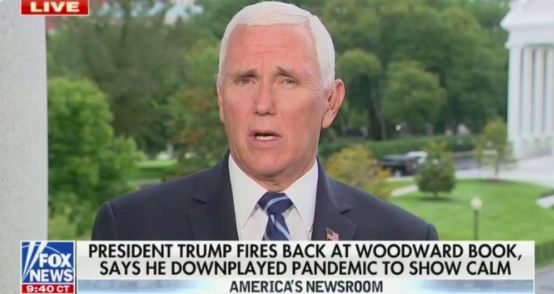 Pence Claims Trump Didn't Downplay Coronavirus Even After Trump Said He Did