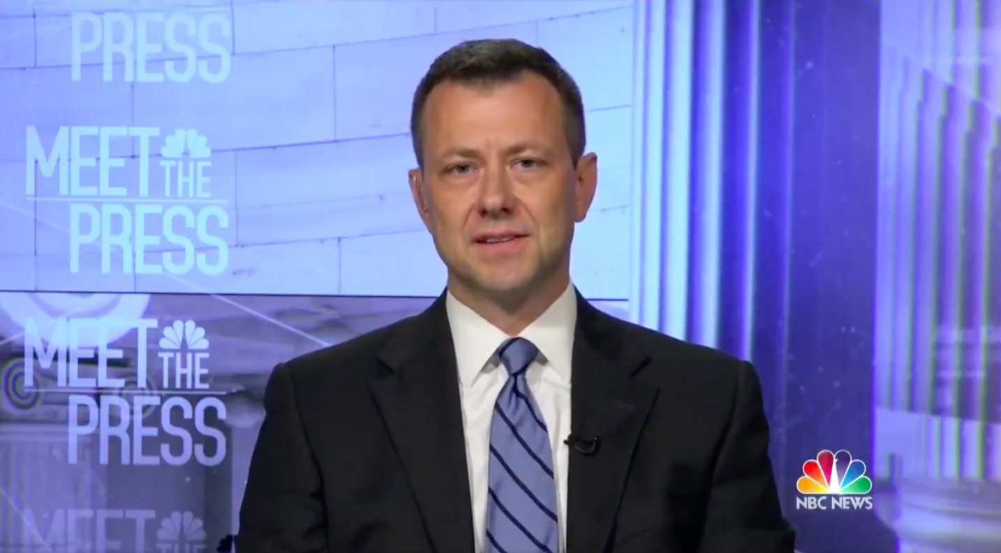 Peter Strzok: Trump's Financial Interests Have Made Him 'Compromised' by Russia