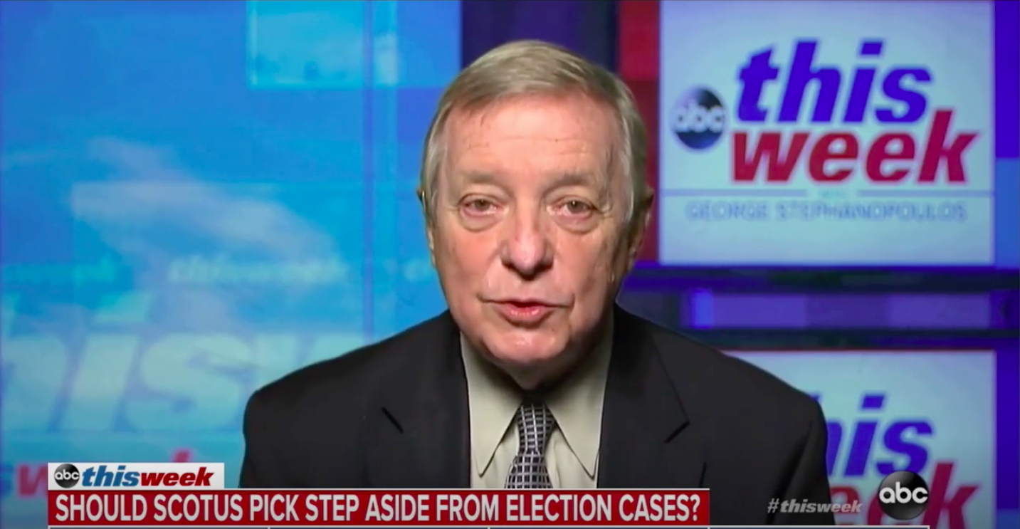 Hillary's 'Flat-out Wrong' for Urging Biden to Not Concede, Sen. Durbin Says