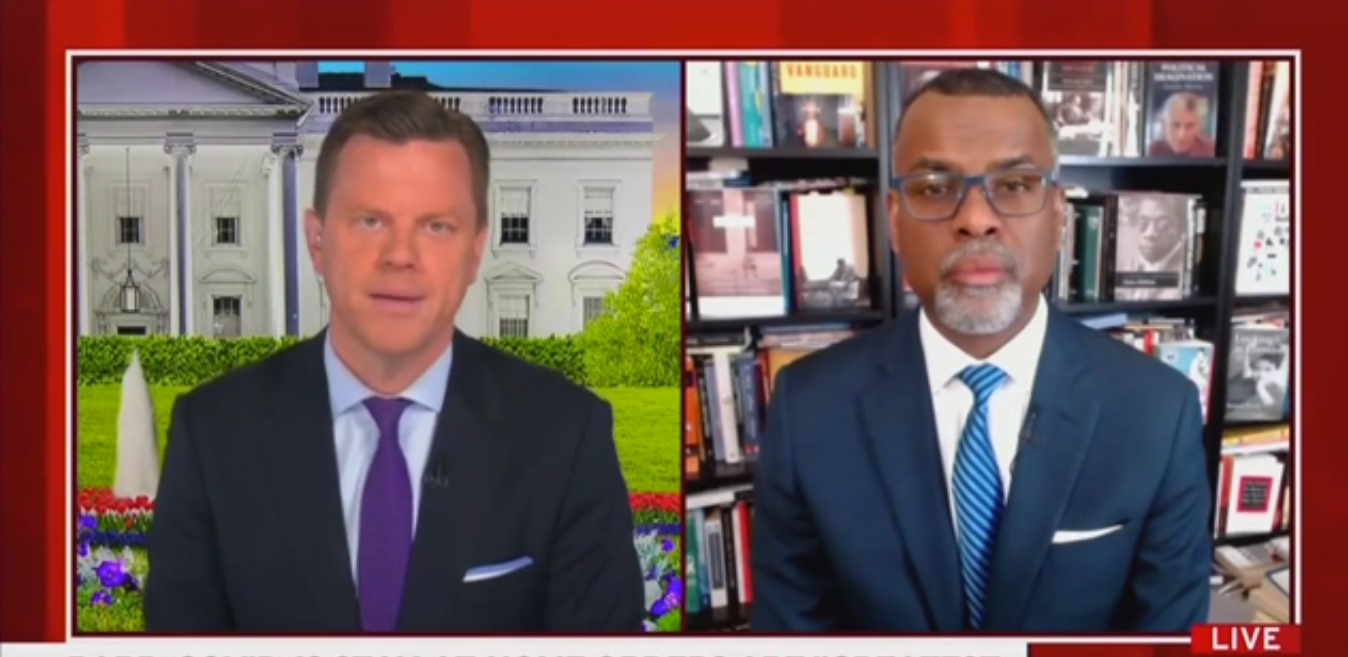 Eddie Glaude Jr.: Bill Barr Is Desperate to Paint White Anti-Maskers as Victims