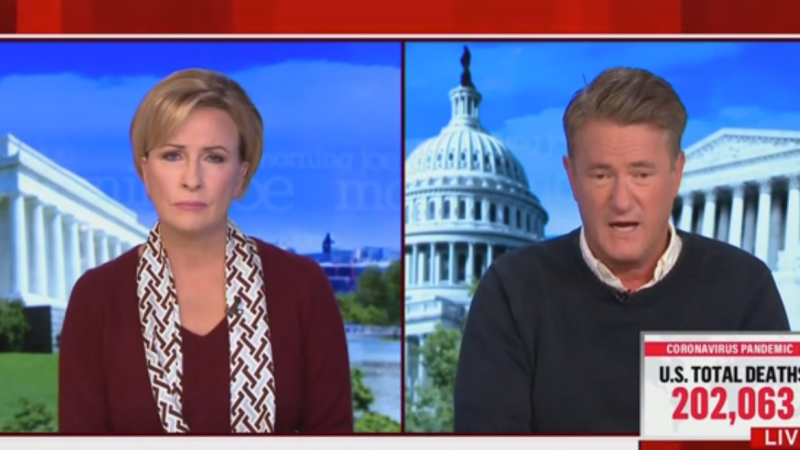 Joe Scarborough: Trump Is 'Talking the Way Fascists Talk' and Media Should Say It