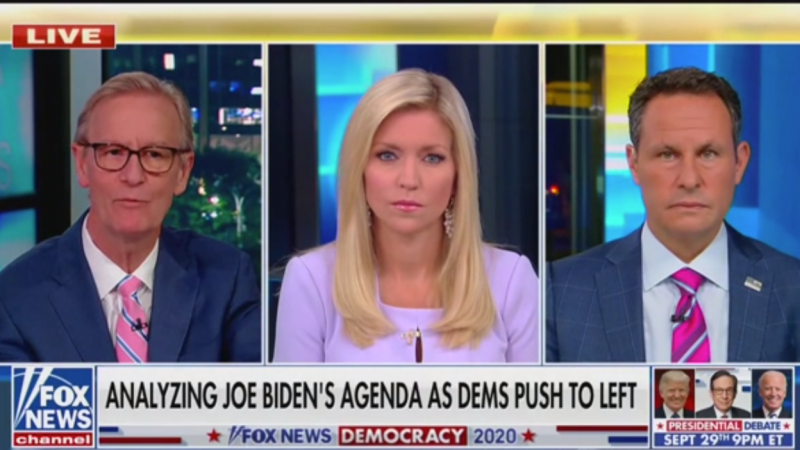 Fox's Brian Kilmeade: Democrats Will Revolt If Biden 'Decides to Go Moderate'