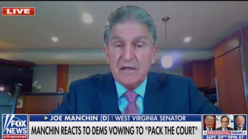 Democratic Senator Joe Manchin Tells Fox News Abolishing the Filibuster Won't Help Anyone