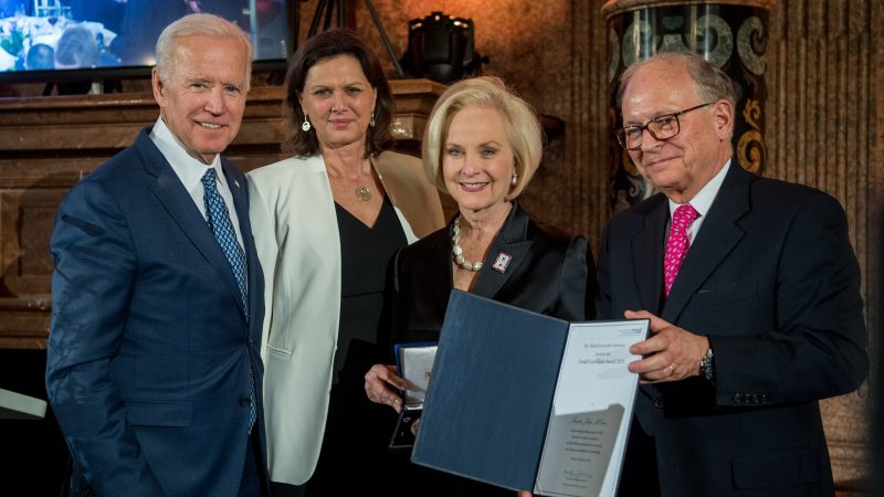 Cindy McCain Endorses Joe Biden for President