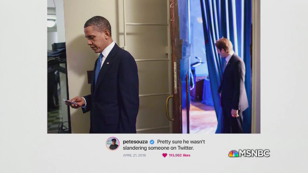 Obama White House Photographer Explains Instagram Digs at Trump