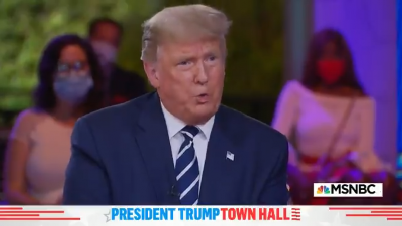 NBC's Savannah Guthrie Presses 'Crazy Uncle' Trump on Conspiracy Tweets