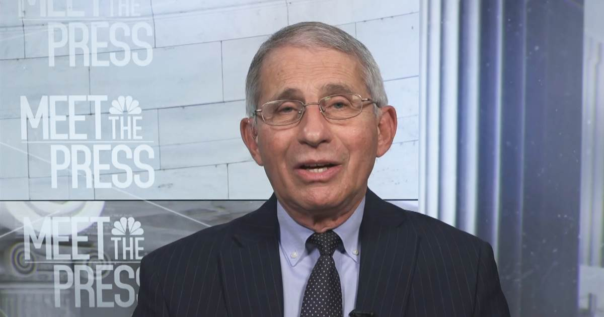 Fauci Warns of 'Superimposed' Coronavirus Surge After Thanksgiving