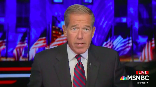Brian Williams Mocks Geraldo Rivera For Suggesting Naming COVID Vaccine After Trump