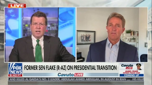 Jeff Flake: I Hope 'Entertainment Politics' of Trump Era Will Fade with Trump Out of Office