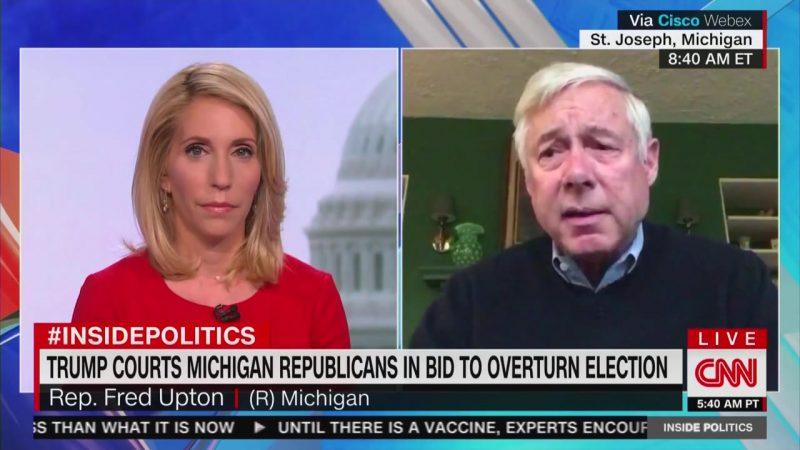 'It's Over,' Michigan GOP Congressman Tells Trump