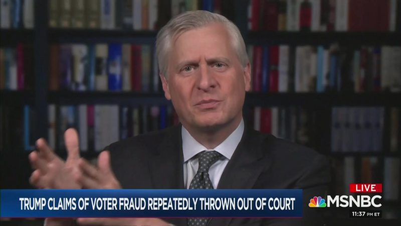 Meacham: Calls for Martial Law to Overturn Election the 'Nightmare Scenario' of Last Few Years