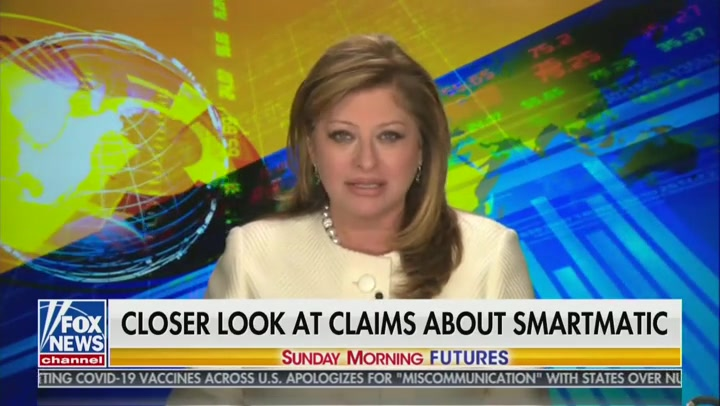 Maria Bartiromo Latest Fox Host to Issue Fact Check of Voting Machine Conspiracies