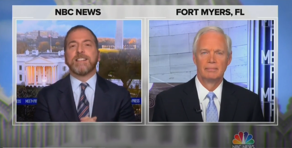 Chuck Todd Hammers Ron Johnson Over Conspiracy Mongering: 'Why Didn't You Hold Hearings About the 9/11 Truthers?'