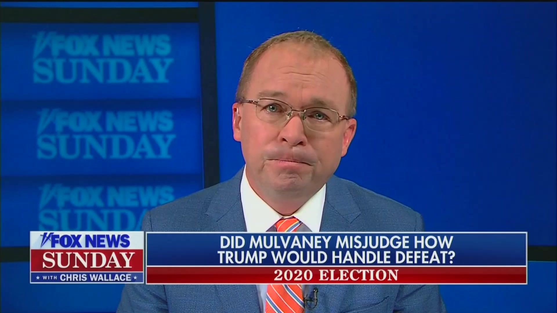Former Chief of Staff Mick Mulvaney Struggles to Explain Op-ed Claiming Trump Would 'Leave in a Presidential Manner'