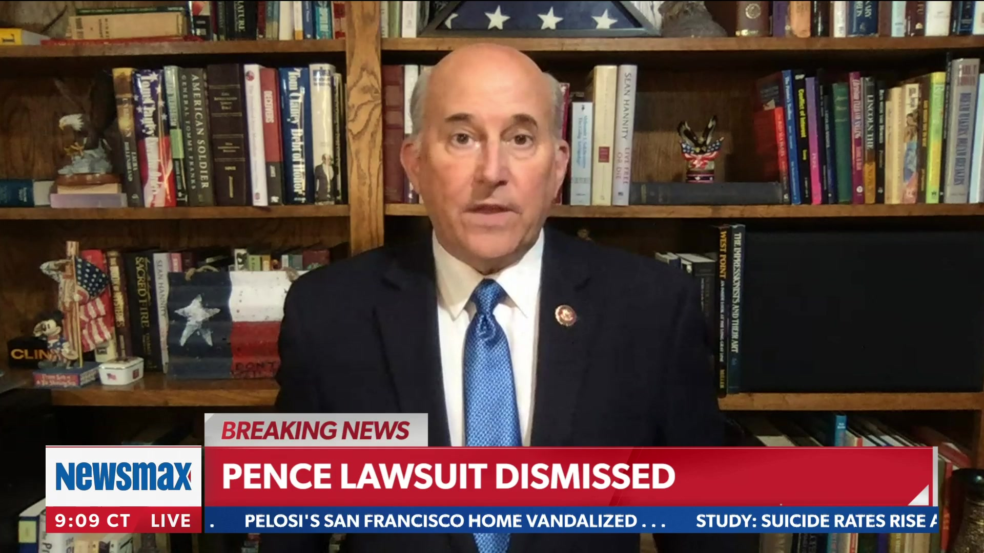 Gohmert's Response to Failed Election Lawsuit: 'Go to the Streets' and 'Be as Violent as' Left-Wing Groups